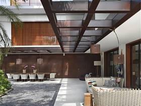 现代现代风格别墅效果图