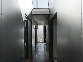现代走廊效果图