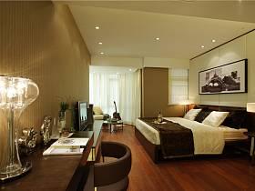 现代简约卧室吊顶设计图