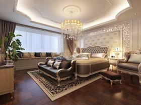 欧式豪华欧式风格卧室吊顶案例展示