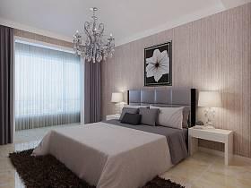 现代简约卧室装修图