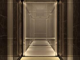 现代现代风格走廊商场装修效果展示