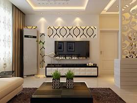 现代简约现代简约简约风格现代简约风格客厅背景墙电视背景墙案例展示