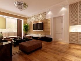 現代客廳電視背景墻設計圖