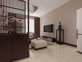 客廳電視背景墻設計案例