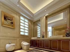 欧式卫生间别墅图片