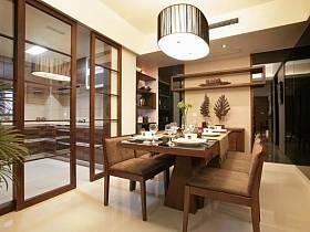 中式中式风格新中式餐厅四居装修案例