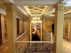 欧式欧式风格别墅楼梯效果图