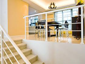 现代别墅楼梯图片