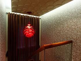 现代吊顶楼梯设计案例