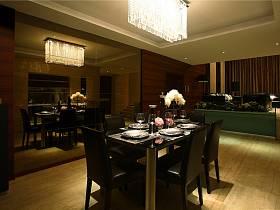 現代餐廳三室兩廳兩衛效果圖