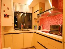 現代廚房三室兩廳兩衛設計案例