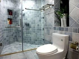 现代卫生间效果图