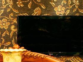 美式客廳電視背景墻設計圖