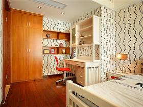 現代簡約兒童房別墅裝修效果展示