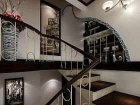 中式新中式楼梯案例展示