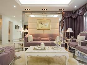 欧式客厅窗帘设计方案