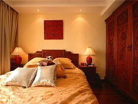 中式卧室整体衣柜设计案例展示