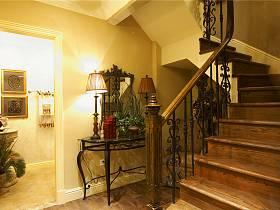 美式過道樓梯設計案例