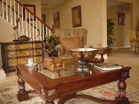 客厅大厅茶几摆件设计案例