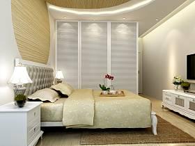 欧式卧室电视背景墙设计方案