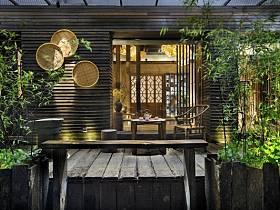 中式休闲区装修图