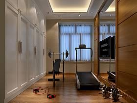 现代现代风格健身房设计案例展示