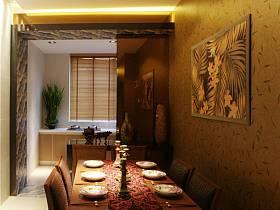 东南亚餐厅吊顶设计案例展示