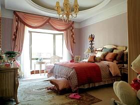 歐式巴洛克風格臥室設計圖
