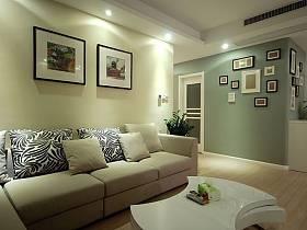 现代现代风格客厅背景墙沙发客厅沙发效果图
