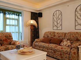混搭混搭风格客厅背景墙沙发客厅沙发图片