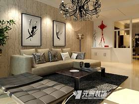 現代現代風格客廳背景墻沙發客廳沙發設計案例展示