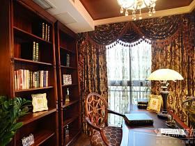 新古典书房收纳图片