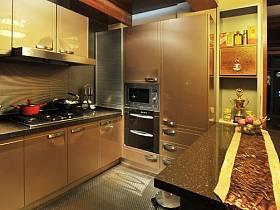 中式厨房跃层装修图