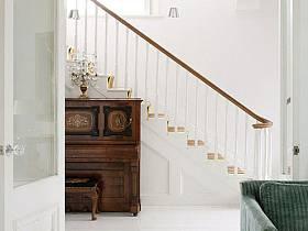 北欧北欧风格过道楼梯装修效果展示