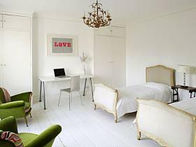 北欧北欧风格卧室设计案例