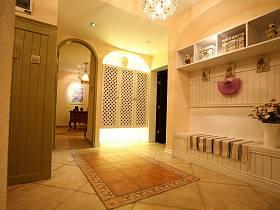 地中海玄关玄关柜设计案例
