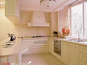 法式厨房别墅吊顶窗帘装修效果展示