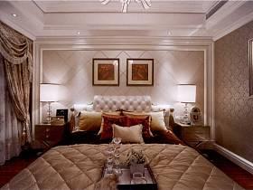 欧式欧式风格卧室装修后果展示