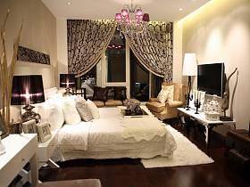现代现代风格卧室设计图