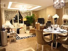 现代现代风格客厅装修效果展示