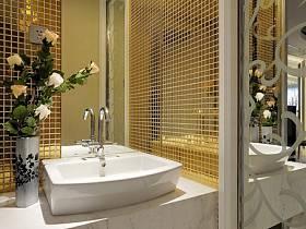 现代现代风格卫生间设计案例