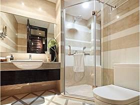 欧式简约欧式风格卫生间设计方案