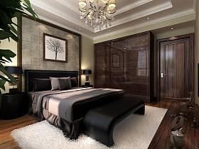 新古典卧室吊顶装修案例