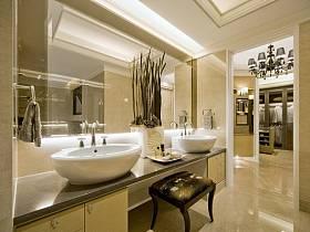 欧式别墅浴室设计案例
