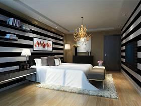 现代卧室装修案例