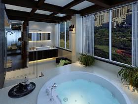 卫生间别墅浴室案例展示
