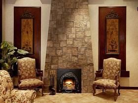 美式美式风格客厅别墅装修图