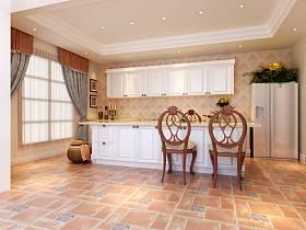 美式混搭混搭风格厨房设计方案
