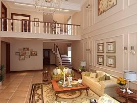 欧式典雅客厅别墅设计案例